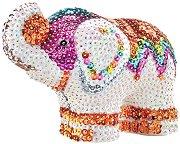 Декорирай сама с пайети - Слонче - творчески комплект