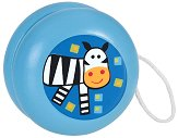 Дървено йо-йо - Зебра - Детска играчка - фигура