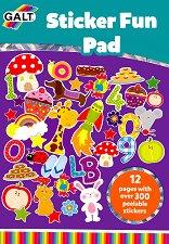 Galt: Блокче със стикери Sticker Fun Pad