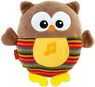 Светещо бухалче - Музикална играчка - играчка