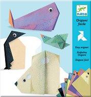 Оригами - Полярни животни - Творчески комплект - играчка