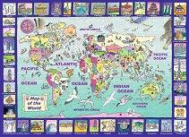 Поглед към света - Пъзел с едри елементи -