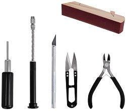 Комплект основни инструменти - За сглобяване на модели и макети - макет