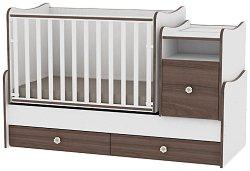 Трансформиращо се детско легло - Trend Plus - Цвят бял и орех - продукт