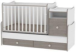 Трансформиращо се детско легло - Trend Plus - Цвят бял и кафе - продукт