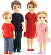 Семейството на Томас и Марион - Мини кукли - кукла