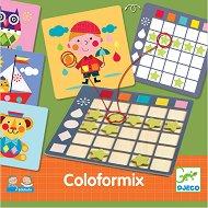 Микс от цветове - Настолна образователна игра -
