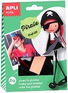 Направи сам - Пират - Творчески комплект - раница