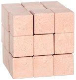 Сома куб - 3D дървен пъзел -