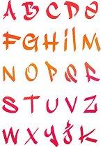 Шаблон - Азбука - Размери 21 x 29.7 cm