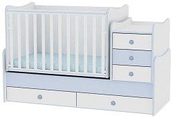 Трансформиращо се детско легло - Maxi Plus - Цвят бял и син - продукт