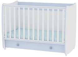 Трансформиращо се детско легло - Dream - Цвят бял и син -