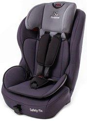 """Детско столче за кола - Safety Fix: Gray - За """"Isofix"""" система и деца от 9 до 36 kg - столче за кола"""
