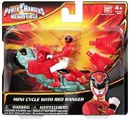 """Червен рейнджър с мотор - Играчка от серията """"Power Rangers Megaforce"""" -"""