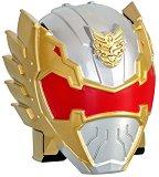 """Каска - Жълт рейнджър - Трансформираща се играчка от серията """"Power Rangers Megaforce"""" -"""