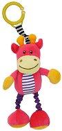 Плюшен жираф - Играчка с вибрация за детска количка или легло - играчка