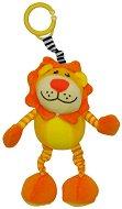 Плюшен лъв - Играчка с вибрация за детска количка или легло -