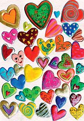 """Тълпа от сърца - Златна колекция - Колекция """"Hearts of Gold"""" -"""