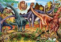 """Тревопасни динозаври - Колекция """"Flora & Fauna"""" - пъзел"""