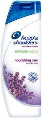 Head & Shoulders Nature Fusion Nourishing Care Shampoo - Подхранващ шампоан за коса против пърхот - спирала