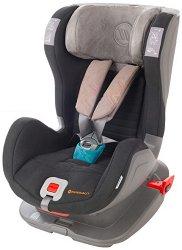 Детско столче за кола - Glider Softy: Gray Blue - За деца от 9 до 25 kg -