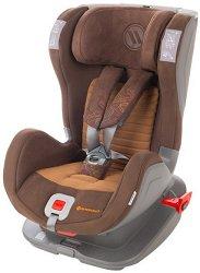 Детско столче за кола - Glider Softy: Brown -