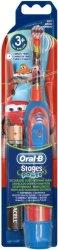 """Oral-B Stages Power Kids Toothbrush Disney Cars - Детска електрическа четка за зъби от серията """"Колите"""" -"""