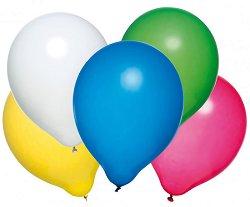 Парти балони - Дъга - Комплект от 10 броя -