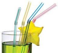 Сламки за напитки - Опаковка от 100 броя - продукт