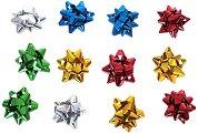 Декоративни мини панделки за подаръци - Опаковка от 12 броя