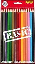Цветни моливи - Basic - Комплект от 15 броя