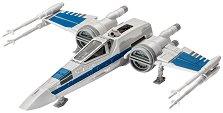 """Космически изтребител на Съпротивата - Resistance X-Wing Fighter - Сглобяем модел от серията """"Revell: Star Wars"""" -"""