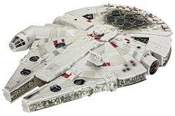 """Космически кораб - Millennium Falcon - Сглобяем модел от серията """"Revell: Star Wars"""" - макет"""