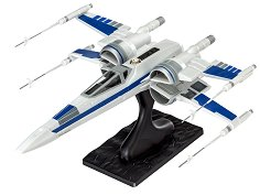 """Космически изтребител на Съпротивата - Resistance X-Wing Fighter - Сглобяем модел от серията """"Revell: Star Wars"""" - макет"""
