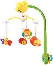 Музикална въртележка - Spring Meadow - Играчка за бебешко креватче - играчка