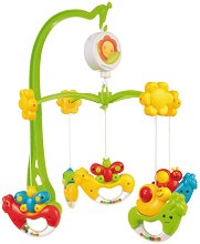 Музикална въртележка - Happy Garden - Играчка за бебешко креватче -