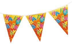 Гирлянд - Честит рожден ден - топка