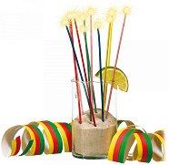 Искрящи свещи - Парти аксесоар - детски аксесоар