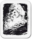 Силиконов печат - Дядо Коледа - Размер 5 x 6 cm - продукт