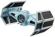 """Космическият изтребител на Дарт Вейдър - TIE Fighter - Сглобяем модел от серията """"Revell: Star Wars"""" - макет"""