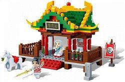 """Храмът на учителя - Детски конструктор от серията """"Tang Dynastie"""" -"""