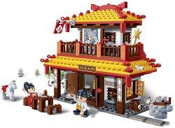 """Ресторантът на учителя - Детски конструктор от серията """"Tang Dynastie"""" - играчка"""