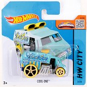 """Метална количка - Cool One - Играчка от серията """"Hot Wheels - City"""" - продукт"""