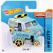 """Метална количка - Cool One - Играчка от серията """"Hot Wheels - City"""" - играчка"""