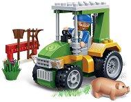 """Трактор - Детски конструктор от серията """"Eco Farm"""" - играчка"""