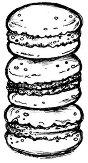 Силиконов печат - Хамбургери -