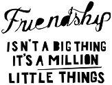 Силиконови печати - Приятелство - Размер 7 x 5 cm - продукт