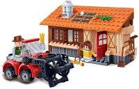"""Комбайн - Детски конструктор от серията """"Eco Farm"""" - детски аксесоар"""