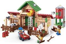"""Селскостопански двор - Детски конструктор от серията """"Eco Farm"""" -"""