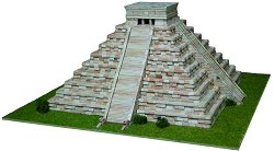 Kukulcan Temple - Сглобяем модел от тухлички -